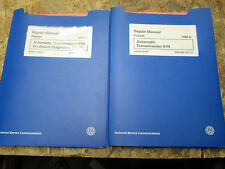 1998 VW PASSAT AUTOMATIC TRANSMISSION 01N FWD OBD II FACTORY SERVICE MANUALS