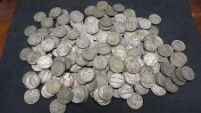 Lot of 120 Three Rolls 35% Silver War Nickels 1942-1945 Bullion US Coins