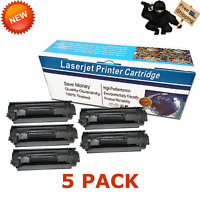 5 PACK 137 Toner Cartridge for Canon 137 imageCLASS MF212w MF216n MF249dw MF215