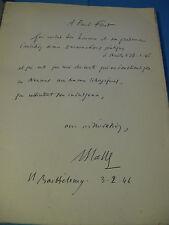 RENE-SALVATOR CATTA NEUMES 19465 EO ENVOI Signé à PAUL FORT / Vélin GREGORIEN