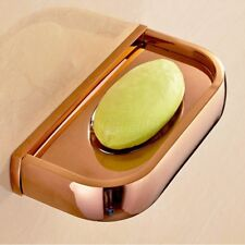 Rose Gold Copper Wall Mount Soap Dish Holder Bathroom Accessories Soap Dish