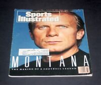 SPORTS ILLUSTRATED AUGUST  6 1990 JOE MONTANA