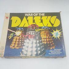 Vintage Doctor Who WAR OF THE DALEKS Board Game (1975) Denys Fisher [Complete]