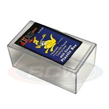 More details for trading card storage box acrylic - holds 400 cards