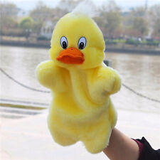 Yellow Duck Toy Hand Glove Puppets Doll For Baby Children Learning Story CO