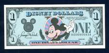 DISNEY DOLLARS, 1989A, UNCIRCULATED, THE THIRD YEAR