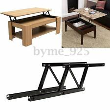 2pcs Lift Up Top Coffee Table Hardware Fitting Furniture Mechanism Hinge Spring