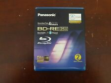 Panasonic 4 H Temps d'enregistrement BD-RE Blu-ray 25 Go Disque