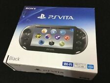 SONY PlayStation PS Vita Wi-Fi Wifi Model Black PCH-2000ZA11 F/S NEW JAPAN