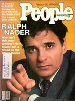 RALPH NADER People Magazine February 28, 1977 with label