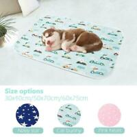 Waterproof Pet Puppy Pee Pads Washable Reusable Dog Mat Training Pad-New R5Q7