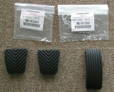 MITSUBISHI GENUINE OEM LANCER EVO5 EVO6 CP9A RUBBER PEDAL COVER 3PCS SET