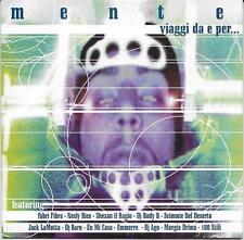 """RARO CD RAP PROMO 2000 """" MENTE VIAGGI DA E PER ... """" FABRI FIBRA  NESLY RICE"""