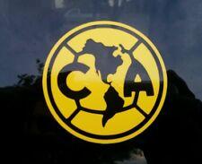"Club America Aguilas Die Cut Decal Sticker Amarillo 5""X 5"""