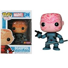 Funko Pop! Marvel #29 Deadpool Unmasked Grey PX Previews Brand-New Exclusive