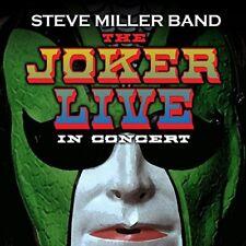 STEVE BAND MILLER - THE JOKER LIVE  CD NEUF