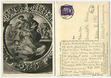 34832 -Michelangelo: Heilige Familie - Echtfoto-AK, gelaufen Merseburg 11.7.1944