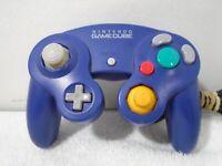 Official Nintendo GameCube Indigo Purple OEM Wired Controller DOL-003