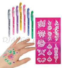 6 Pack of Gel Pens Extra Sparkle Glitter pens for Home School Office Best Price