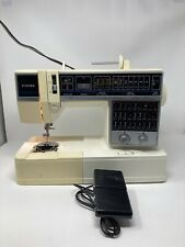 Used Electronic Singer Sewing Machine Micro Computer Model 6268 Heavy Duty Pedal