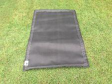 Black  7 X 4 (22) spring Trampoline mat - New.3 Year Warranty Stitching