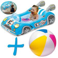Aufblasbar Ball + Rennwagen Schlauchboot Wasserspielzeug Schwimmbad Auto Kinder
