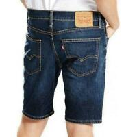 Levi's 511 Slim Fit Stretch Dark Blue Denim Shorts Size W28