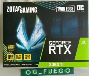 ZOTAC GeForce RTX 3060 TI Twin Edge OC LHR ZT-A30610H-10MLHR ✅ FAST SHIPPING ✅