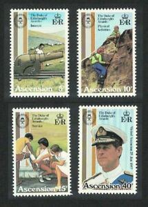 ASCENSION ISLAND 297 - 300 MNH OG ** 1981 DUKE OF EDINBURGH'S AWARDS 25TH - T999