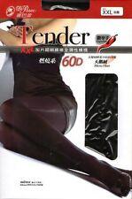 On Sale Fashion XXL Tender Micro fiber velvet plus gusset elastic pantyhose 215