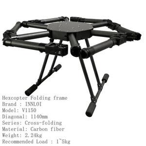 INNLOI 1150mm Drone Fame Hexacopter carbon fiber MultiRotor For Agricultural UAV