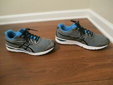 Used Worn Size 12 Asics Gel Storm 2 Shoes Gray Blue Black Silver White
