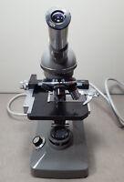OLYMPUS Microscope. Objective=4/10/40. WF10X Eye piece. (#5964)