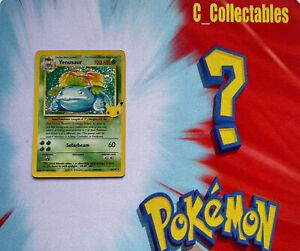 Pokemon Card Venusaur Holo Celebrations 15/102 Secret Rare 25th Anniversary Mint