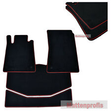 MP Velour Fußmatten Kofferraum Set Mercedes SLK R171 ab Bj.2004 - 2011 DBro