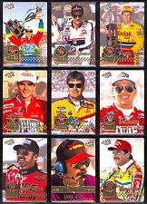 1995 ACTION PACKED NASCAR RACING COMPLETE 86 CARD SET DALE EARNHARDT JEFF GORDON