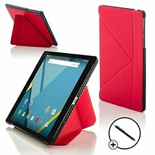 Forefront Cases Red Origami Smart Case Cover HTC Google Nexus 9 8.9 Stylus