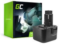 GC Akku für Black & Decker CD120GK CD120GK2 CD12C CD12CA (3Ah 12V)