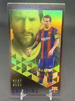 2020-21 Topps UEFA Soccer Best of the Best Captains Lionel Messi FC Barcelona