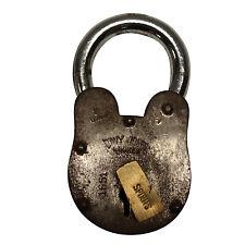 Davy Jones Nautical Padlock Old Antique Style Treasure Chest Lock 2lbs 6 inches
