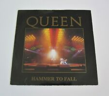 """QUEEN : Hammer To Fall - Withdrawn 'Live' Picture Sleeve 7"""" Vinyl 1984 Single"""