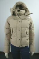 NWT Womens The North Face TNF Forester Crop Jacket 550-Down Winter Jacket Khaki