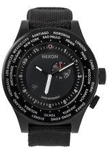 NIXON Passport Watch - A321 001, All Black