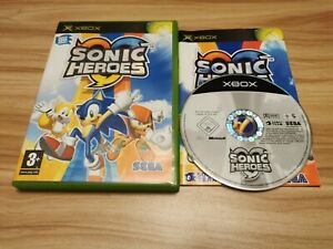 Sonic Heroes For Microsoft Original Xbox Complete - See Offer!