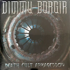 DIMMU BORGIR - Death Cult Armageddon 2 x LP - White Colored Vinyl Album Record