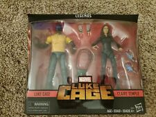 Marvel Legends- Luke Cage and Claire Temple(Unopened and Rare)