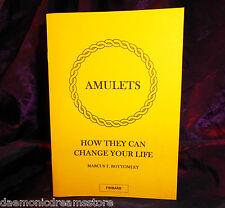 How to make & Use Magic AMULETS Finbarr Occult Grimoire Magic Black White Magick