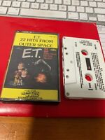 E.T. 22 Hits From Outer Space Cassette Tape