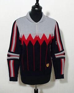 Flad Ski Strick Pullover Grösse XS Damen Vintage K534