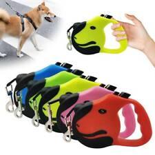 3/5M Strong Retractable pet dog lead leash Extendable Pet Puppy Training Walking